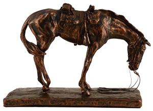 The War Horse Staute